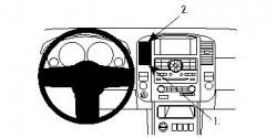 Fixation voiture Proclip  Brodit Nissan Pathfinder Réf 854195