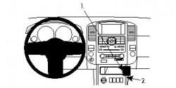 Fixation voiture Proclip  Brodit Nissan Pathfinder Réf 854196