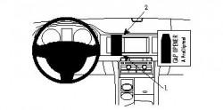 Fixation voiture Proclip  Brodit Jaguar XF Réf 854200