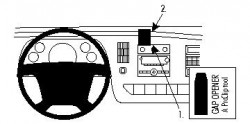 Fixation voiture Proclip  Brodit Chevrolet Express Réf 854203