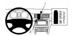 Fixation voiture Proclip  Brodit Skoda Superb Réf 854218