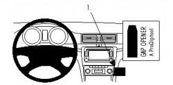 Fixation voiture Proclip  Brodit Skoda Superb Réf 854219