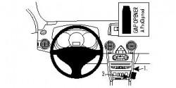 Fixation voiture Proclip  Brodit Renault Koleos Réf 854223