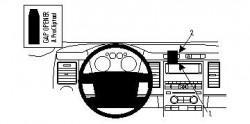 Fixation voiture Proclip  Brodit Ford Flex Réf 854235