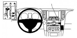 Fixation voiture Proclip  Brodit Infiniti FX35 Réf 854242