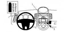 Fixation voiture Proclip  Brodit Kia Soul Réf 854254
