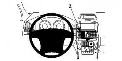 Fixation voiture Proclip  Brodit Volvo XC60 Réf 854256