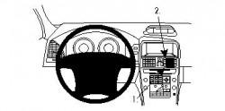 Fixation voiture Proclip  Brodit Volvo XC60 Réf 854257