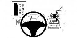 Fixation voiture Proclip  Brodit Seat Ibiza Réf 854271