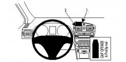 Fixation voiture Proclip  Brodit Toyota Avensis Réf 854280