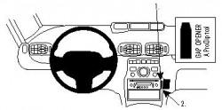 Fixation voiture Proclip  Brodit Citroen C3 Picasso Réf 854294
