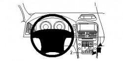 Fixation voiture Proclip  Brodit Volvo XC60 Réf 854296