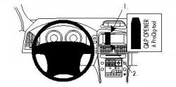 Fixation voiture Proclip  Brodit Volvo XC60  PAS pour les modèles avec option GPS d'origine. SEULEMENT pour l'installation d'appareils GPS plus petits. Réf 854297