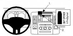 Fixation voiture Proclip  Brodit Dodge Ram Chassis Cab Réf 854301