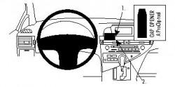 Fixation voiture Proclip  Brodit Lexus RX Series Réf 854322