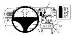 Fixation voiture Proclip  Brodit Opel Zafira B Réf 854335