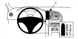 Fixation voiture Proclip  Brodit Peugeot 3008 Réf 854344