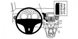 Fixation voiture Proclip  Brodit Chevrolet Cruze  PAS pour stationwagon. Réf 854349