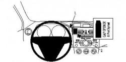 Fixation voiture Proclip  Brodit Mazda 3 Réf 854352