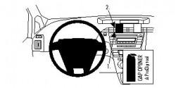 Fixation voiture Proclip  Brodit Toyota Prius Réf 854354