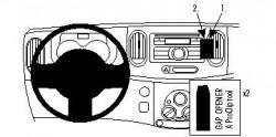 Fixation voiture Proclip  Brodit Nissan Cube Réf 854374