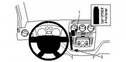 Fixation voiture Proclip  Brodit Ford Tourneo Connect  PAS pour les modèles avec port USB. Réf 854379