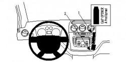 Fixation voiture Proclip  Brodit Ford Tourneo Connect  PAS pour les modèles avec port USB. Réf 854380