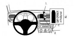 Fixation voiture Proclip  Brodit Volkswagen Polo Réf 854382