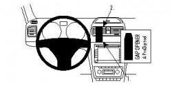 Fixation voiture Proclip  Brodit Skoda Yeti Réf 854393