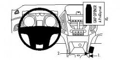 Fixation voiture Proclip  Brodit Chevrolet Equinox Réf 854407