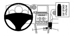 Fixation voiture Proclip  Brodit Nissan GTR Réf 854417