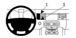 Fixation voiture Proclip  Brodit Land Rover Range Rover Sport Réf 854420