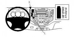 Fixation voiture Proclip  Brodit Toyota HiLux Réf 854436