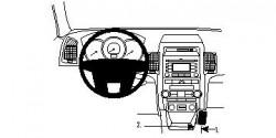 Fixation voiture Proclip  Brodit Kia Sorento Réf 854447