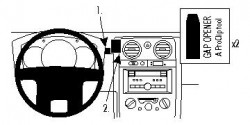 Fixation voiture Proclip  Brodit Isuzu D-Max Réf 854473