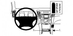 Fixation voiture Proclip  Brodit Hyundai Sonata Réf 854503