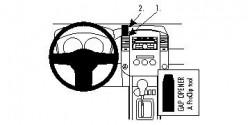 Fixation voiture Proclip  Brodit Nissan King Cab Réf 854520