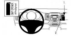 Fixation voiture Proclip  Brodit Kia Sportage Réf 854558