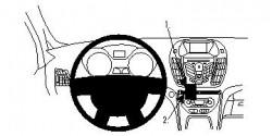 Fixation voiture Proclip  Brodit Ford C-Max  Kuga - PAS pour Sony stéréo. Réf 854570