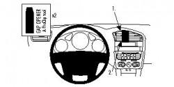 Fixation voiture Proclip  Brodit Citroen C4 II Réf 854590