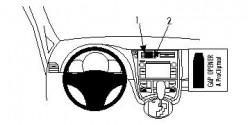 Fixation voiture Proclip  Brodit Subaru Trezia Réf 854612