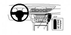 Fixation voiture Proclip  Brodit Audi A6  PAS pour la finition bois Réf 854622