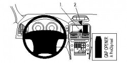 Fixation voiture Proclip  Brodit Volvo XC60 Réf 854625