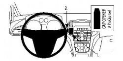 Fixation voiture Proclip  Brodit Buick Verano Réf 854633