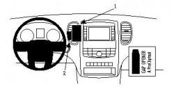 Fixation voiture Proclip  Brodit Dodge Durango 2WD Réf 854643
