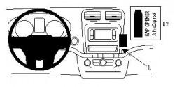 Fixation voiture Proclip  Brodit Dodge Journey Réf 854652