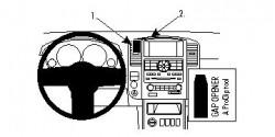 Fixation voiture Proclip  Brodit Nissan Pathfinder Réf 854658