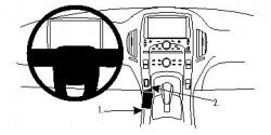 Fixation voiture Proclip  Brodit Chevrolet Volt Réf 854663