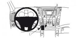 Fixation voiture Proclip  Brodit Hyundai i40 Réf 854685