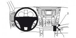 Fixation voiture Proclip  Brodit Hyundai i40 Réf 854686